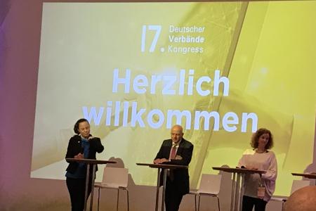 17. Verbändekongress in Berlin als Präsenzveranstaltung