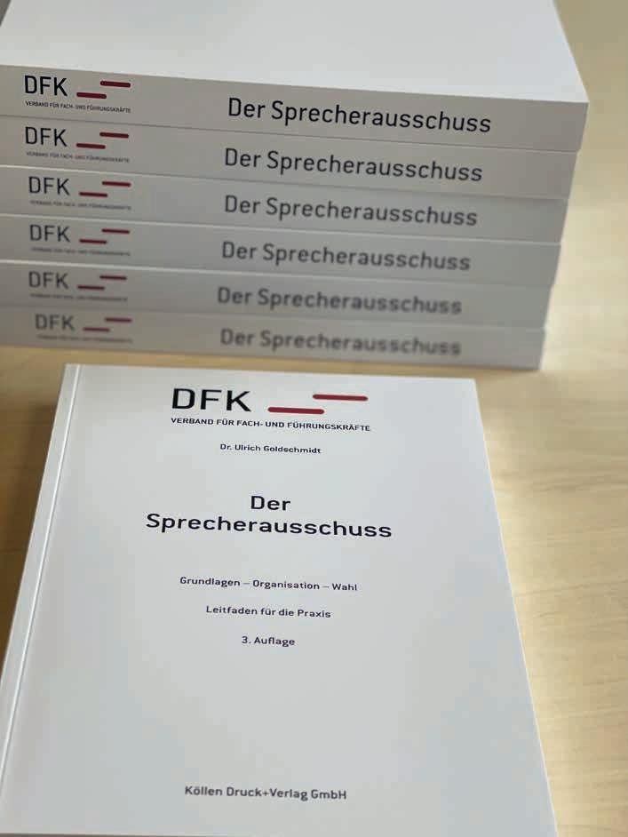 Der DFK – Sprecherausschuss-Leitfaden (Grundlagen – Organisation – Wahl)Die aktuelle Auflage 2021
